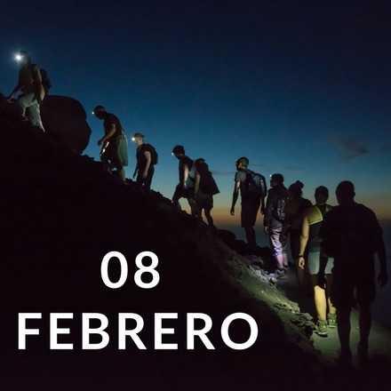 Manquehuito Sunset 08 Febrero
