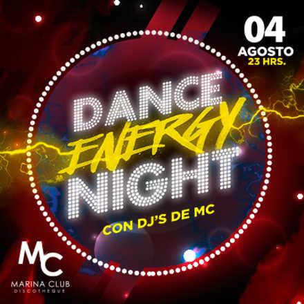Fiesta Dance Energy Night