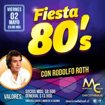 Fiesta 80 con Rodolfo Roth