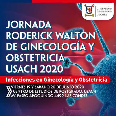 JORNADA RODERICK WALTON DE  GINECOLOGÍA Y OBSTETRICIA - USACH 2020 INFECCIONES EN GINECOLOGÍA Y OBSTETRICIA