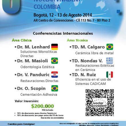 8° Seminario Internacional Ivoclar Vivadent Colombia