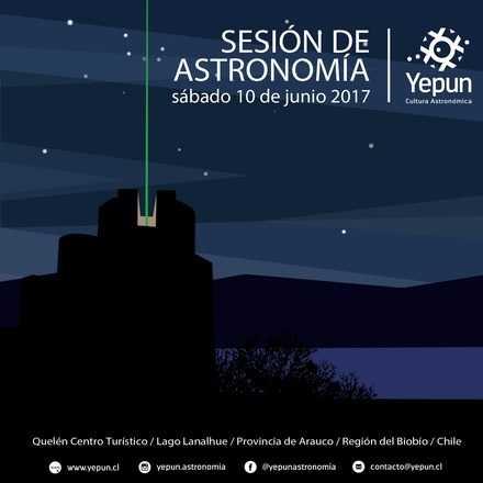 Sesión Astronomía / sábado 10 de junio 2017