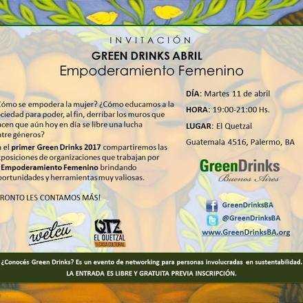 Green Drinks Bueno Aires 11-4 / Empoderamiento Femenino