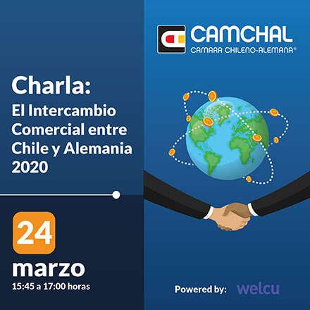 Charla: El Intercambio Comercial entre Chile y Alemania 2020