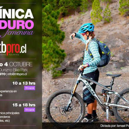Clínica Enduro Femenina Octubre 2014