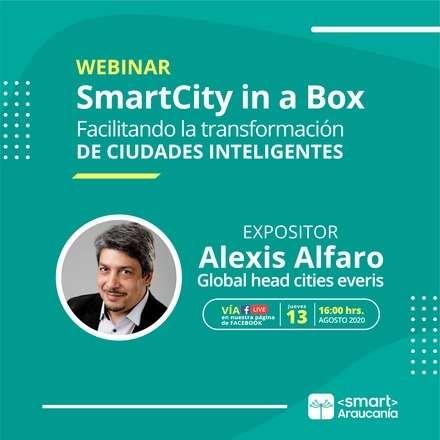 Webinar: SmartCity in a Box, Facilitando la transformación de ciudades inteligentes