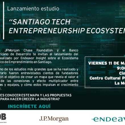 Lanzamiento Estudio Santiago Tech Entrepreneurship Ecosystem