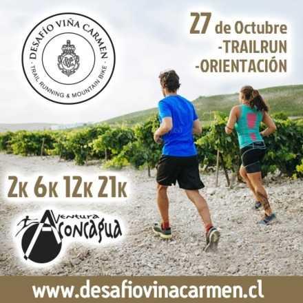 Desafío Viña Carmen -Trailrun 27 de Octubre 2018