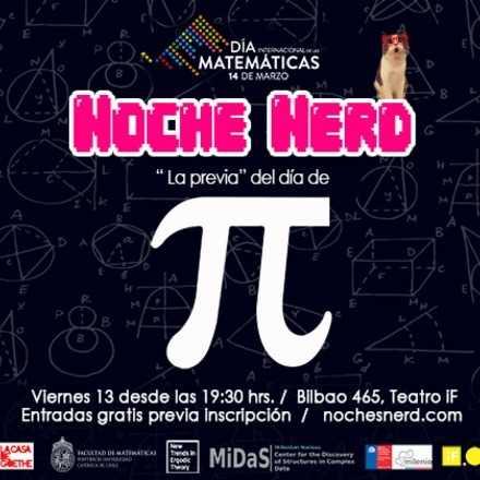 Noche Nerd: La Previa del Día Internacional de las Matemáticas