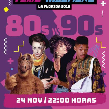 Aniversario La Florida: Fiesta Time Machine