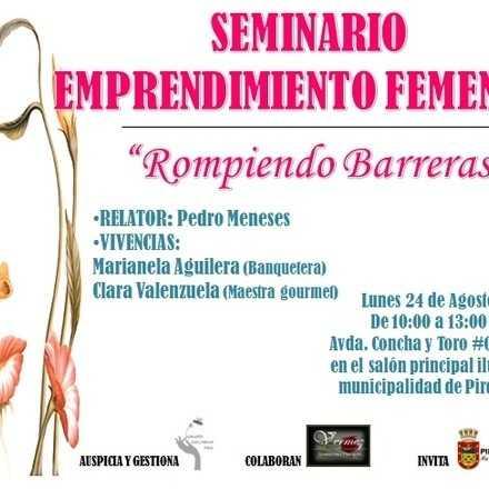 SEMINARIO ROMPIENDO BARRERAS