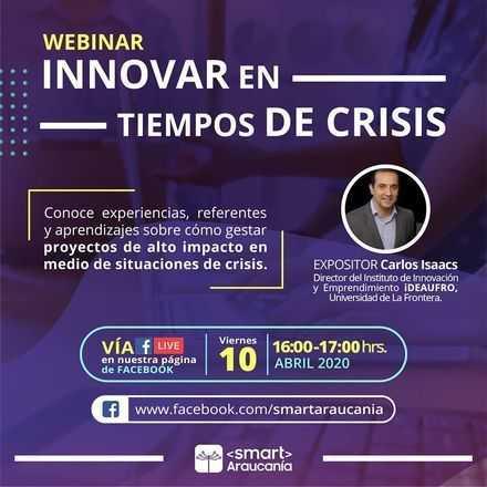 Webinar: Innovar en tiempos de crisis