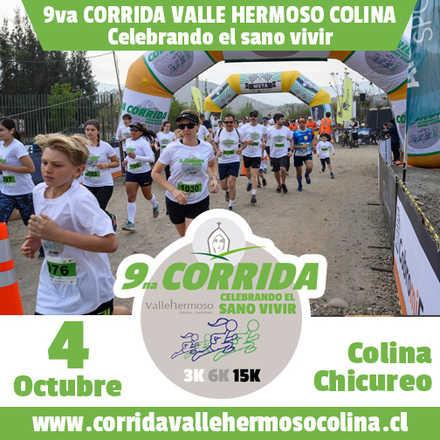 CORRIDA VALLE HERMOSO COLINA - CELEBRANDO EL SANO VIVIR 2020 Octubre 4