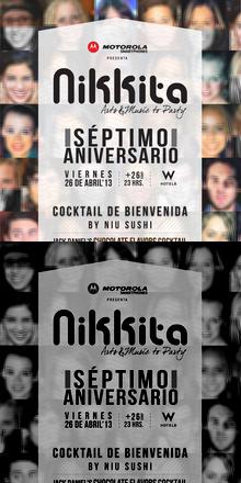 7° ANIVERSARIO NIKKITA ARTS&MUSIC TO PARTY /@ W SANTIAGO
