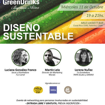 Green Drinks BA 11-10 / Diseño Sustentable
