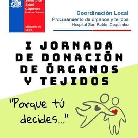 I Jornada de donación de órganos y tejidos - IV Región