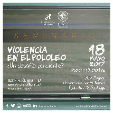 """Seminario """"Violencia en el Pololeo, Un desafío pendiente?"""