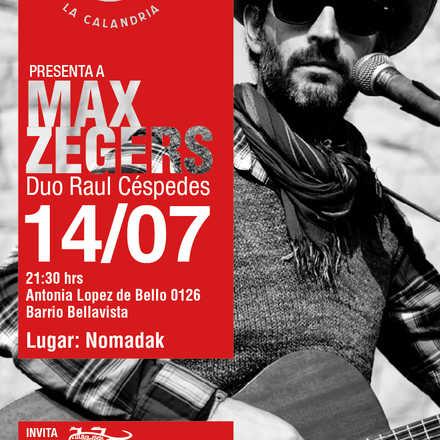 Max Zegers en Vivo: Nomadak Antzokia