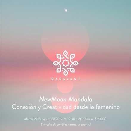 New MoonMandala: Conexión y Creatividad desde lo femenino.