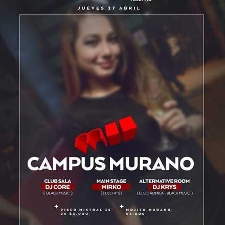 GABRIELA RODRÍGUEZ > Jueves 27.04 Campus Murano