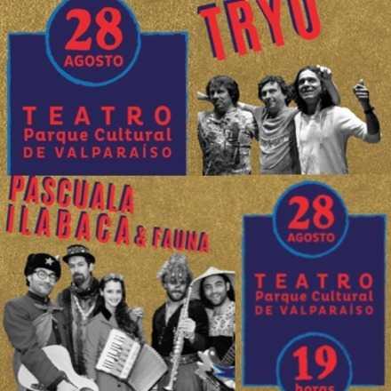 Juntos y Revueltos: Pascuala Ilabaca & Fauna y Tryo en Teatro PCDV