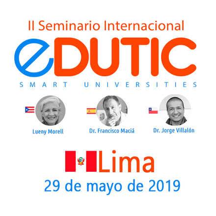 II Seminario Internacional EDUTIC Perú