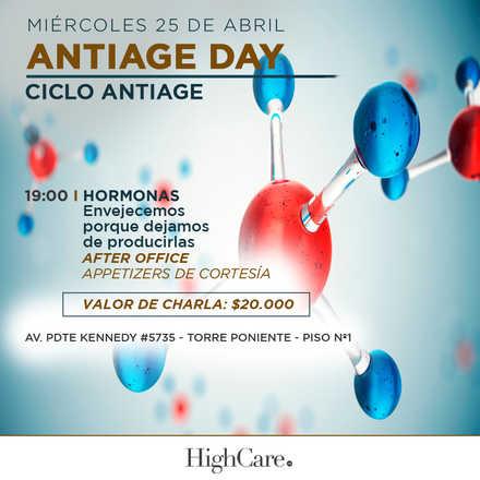 Ciclo Antiage - Antiage Day - Hormonas