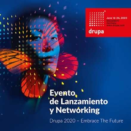 Evento de Lanzamiento de Drupa 2020