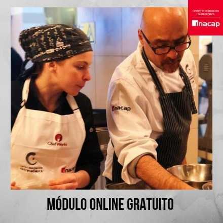 Técnicas de cocina sous vide, módulo on line gratuito 2019 (sin horario)