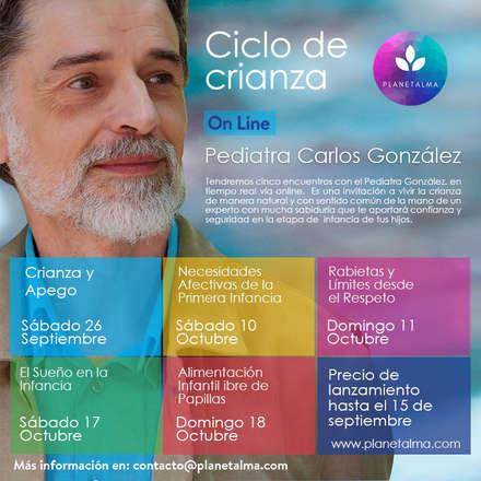 Ciclo de Crianza con el Pediatra  Dr. Carlos González