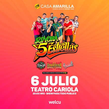 Fiesta Sonora 5 Estrellas