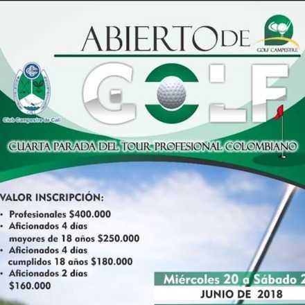 Abierto Club Campestre Cali 2018