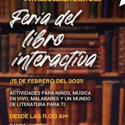 """""""Feria del libro interactiva"""""""