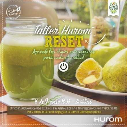 Taller Hurom - RESET