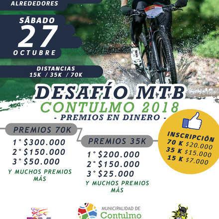 DESAFÍO MTB CONTULMO 2018