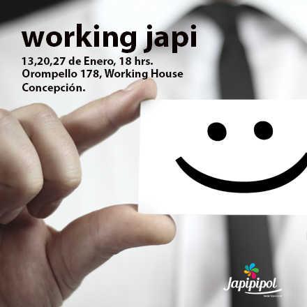 Working Japi