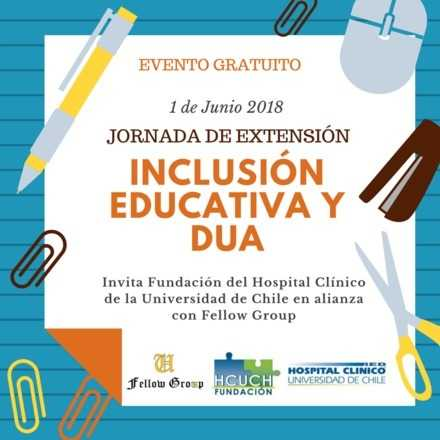 Jornada de Extensión Inclusión Educativa y DUA