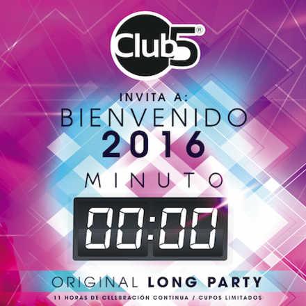Minuto Cero / Fiesta de Año Nuevo en Club5