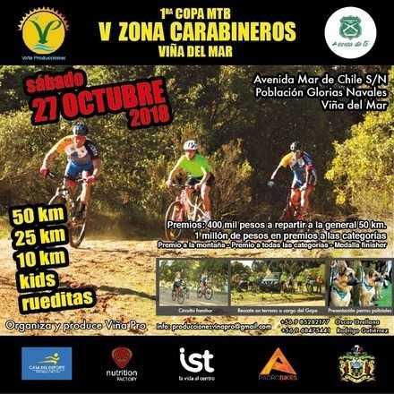1ra Copa MTB V Zona Carabineros
