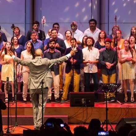 Presentación Coro Chile Gospel / Santiago
