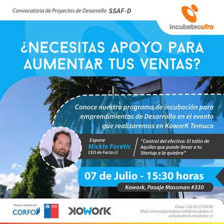 Lanzamiento Convocatoria SSAF-Desarrollo Temuco