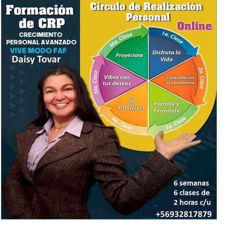 CRP crecimiento personal avanzado, vivir en felicidad, abundancia y facilidad