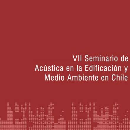 VII Seminario de Acústica
