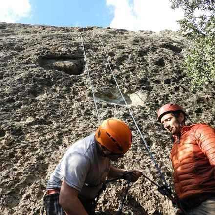 Curso Iniciación a la Escalada en Roca Malku  - Febrero 2019