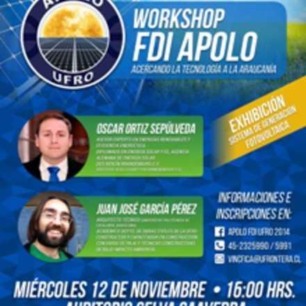 """Workshop APOLO                                          """"Acercando la Tecnología a La Araucanía"""""""