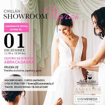 Showroom Novias Chillán 2019