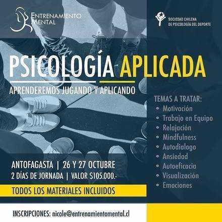 Curso de Psicología Deportiva APLICADA