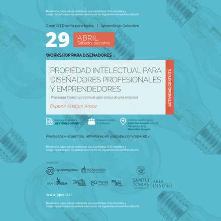 Propiedad Intelectual para Diseñadores Profesionales y Emprendedores