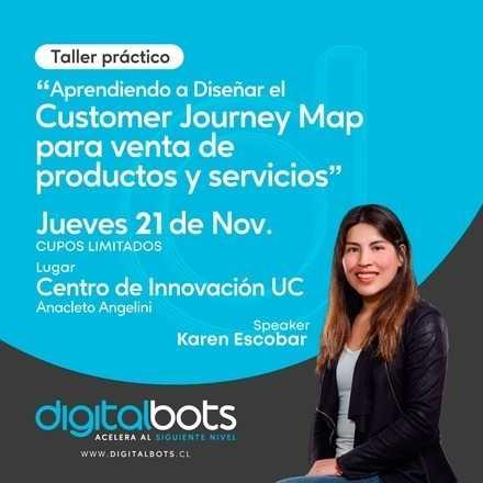Aprendiendo a diseñar un customer journey map, para la venta de productos y servicios