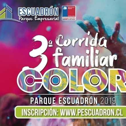 Corrida Familiar Color Parque Escuadrón 2019